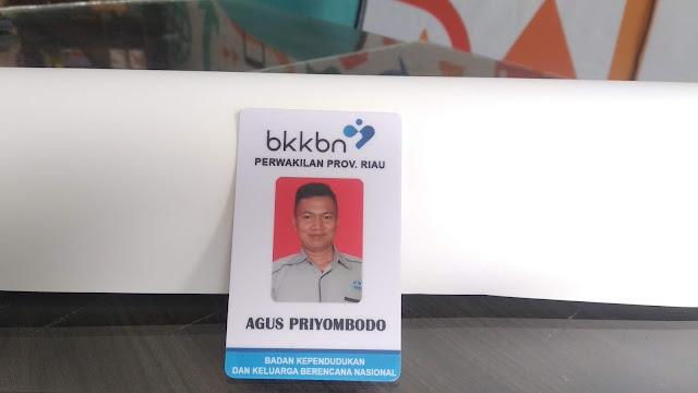 ID Card dan Name Tag BKKBN Prov riau