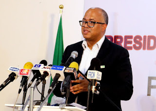 Face mask is for those infected - NCDC DG, Chikwe Ihekweazu reveals why he doesn't wear face masks