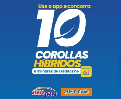 Cadastrar Promoção Ipiranga 10 Carros Híbridos Corollas