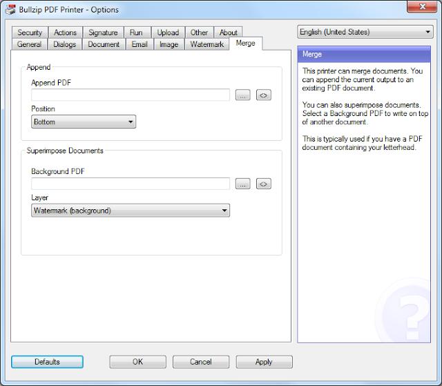 Screenshot Bullzip PDF Printer Expert 11.13.0.2823 Full Version