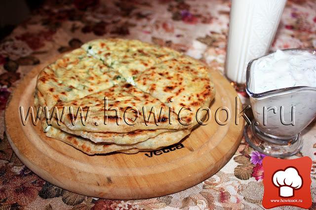 рецепт хычинов с сыром и зеленью