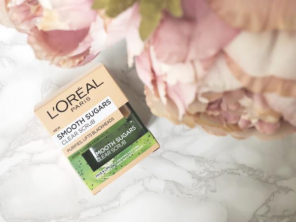 Скраб за лице и устни L'Oreal Smooth Sugars