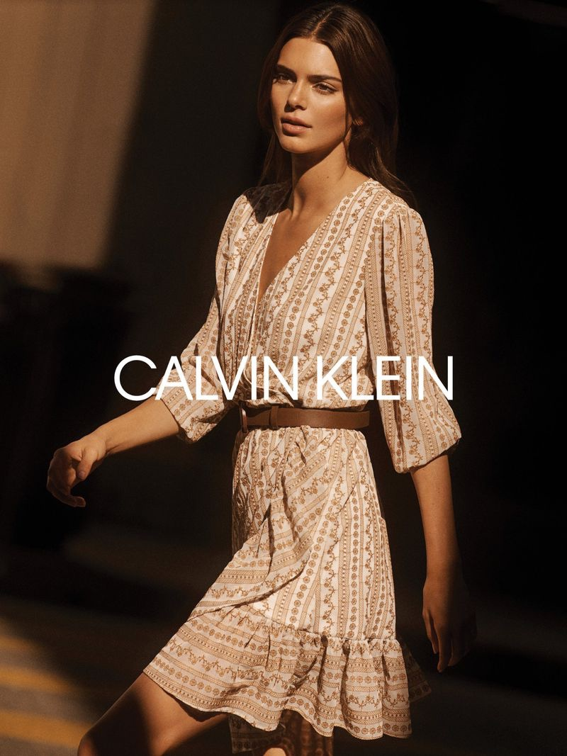 Kendall Jenner stars in Calvin Klein fall-winter 2020 campaign.