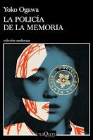 """Portada de """"La policía de la memoria"""" de Yoko Ogawa"""