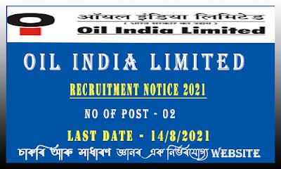 OIL India Ltd Recruitment - HR Position