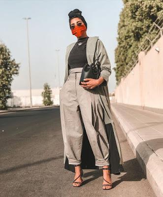 Máscara moda fashion