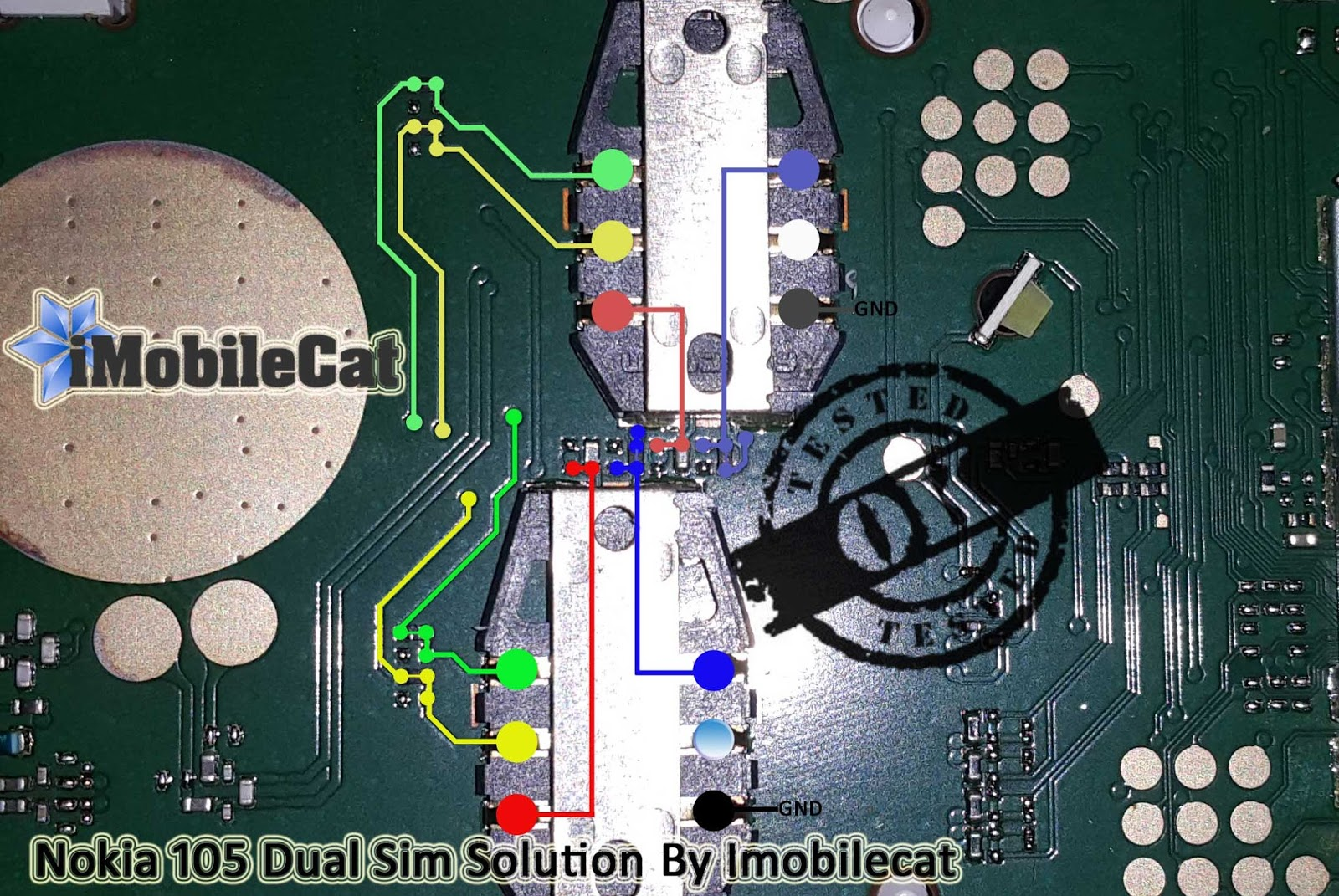 Microsoft Nokia 105 RM1133 Dual Insert Sim Final Solution | iMobileCat