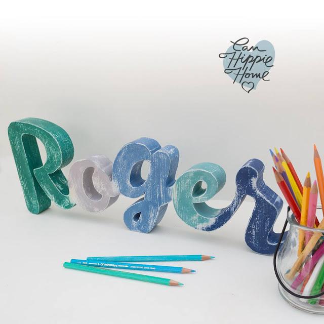 Artesanos de letras de madera: Can Hippie Home-22