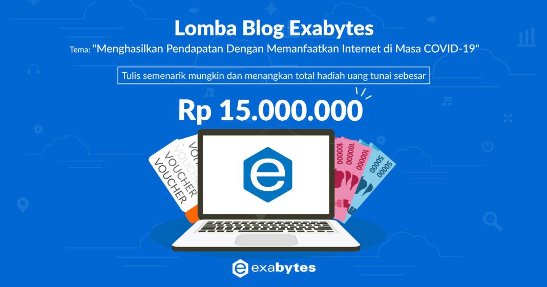 Lomba blog juli lomba blog exabytes 2020