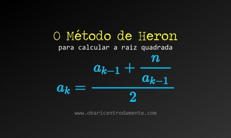 Método de Heron para calcular raiz quadrada