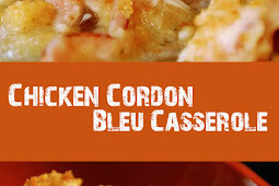 YUMMY CHICKEN CORDON BLEU CASSEROLE