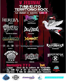 V Festival Tunjuelito Territorio Rock