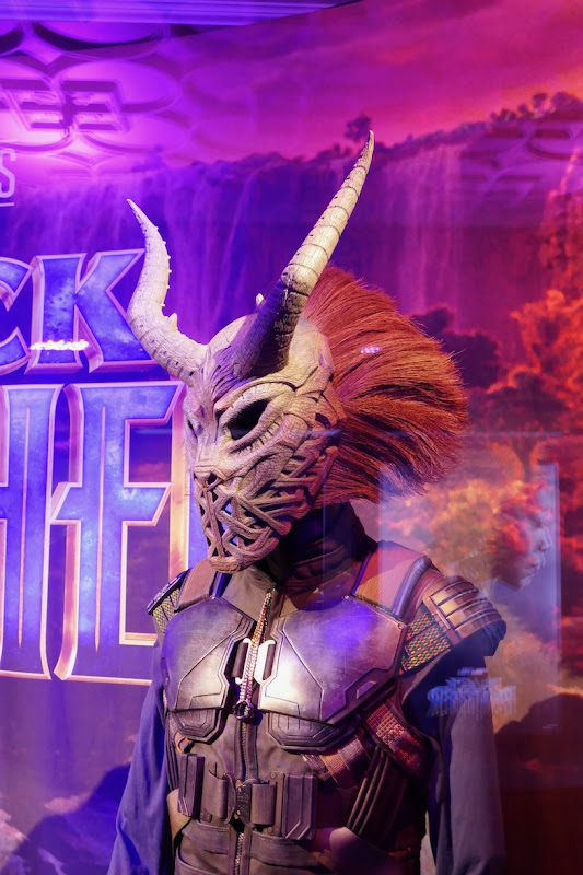 Black Panther Killmonger tribal mask