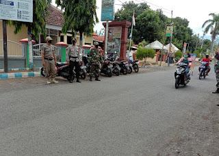 Stop Penyebaran Covid-19, Koramil 0820/18 Kotaanyar Gelar Ops Gakplin