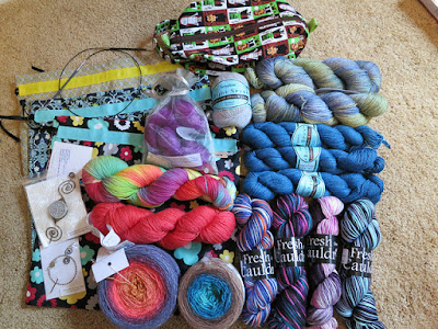 Knitting Like Crazy: Stitches Midwest 2014 Haul