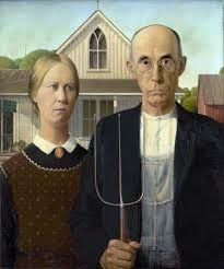 American Gothic, Grant Wood