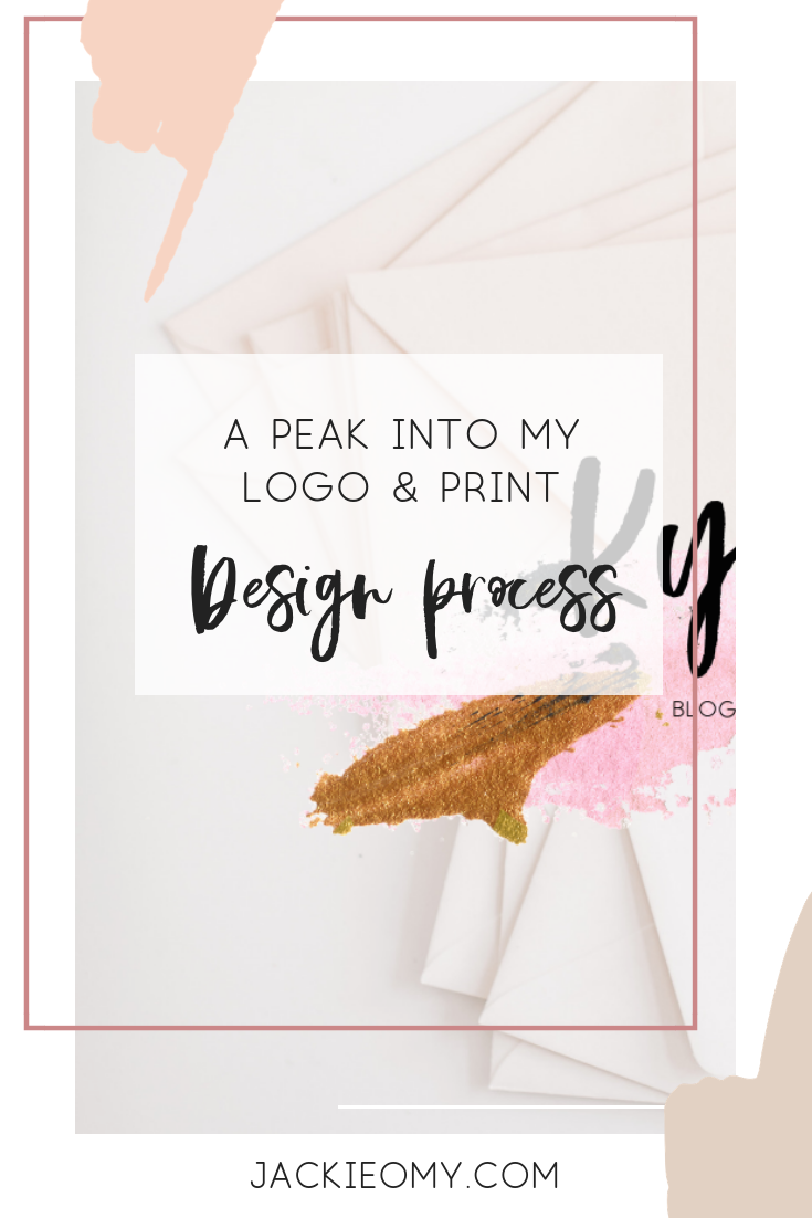 A Little Peek Into My Design Process | Jackie O My