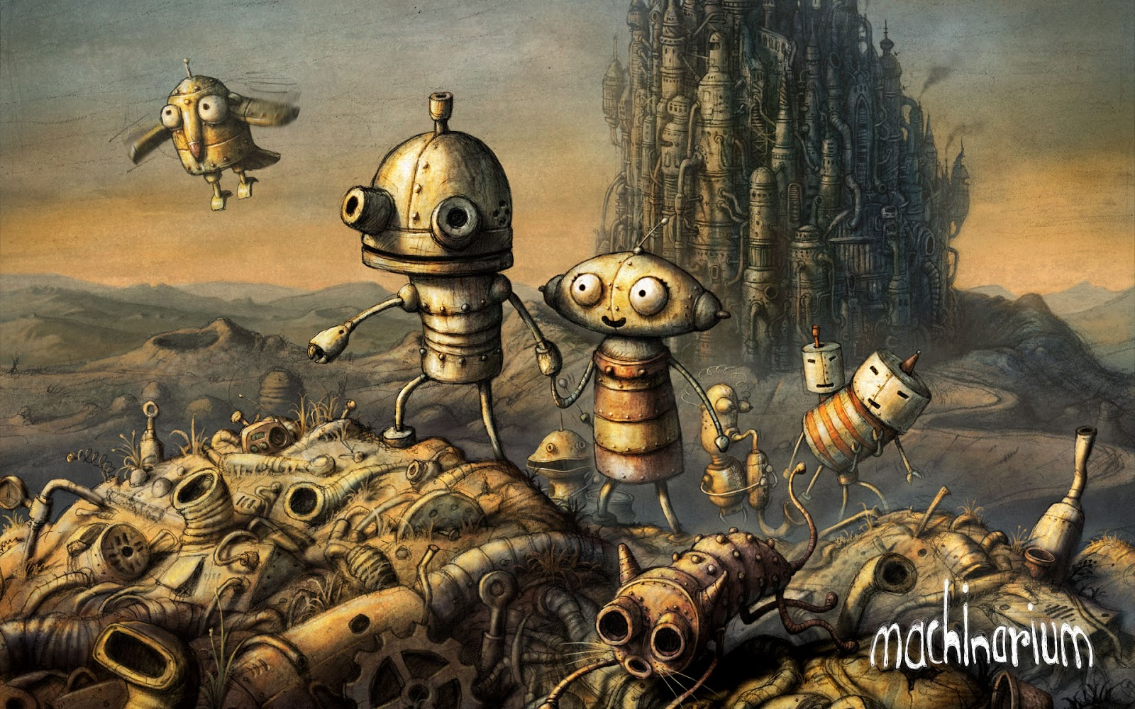 game petualangan android machinarium