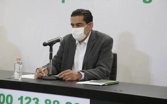 Miguel Ángel Lutzow Steiner como nuevo Secretario de Salud de San Luis Potosí / Cortesía Salud SLP