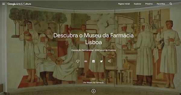 Museu da Farmácia disponível online no Google Arts & Culture