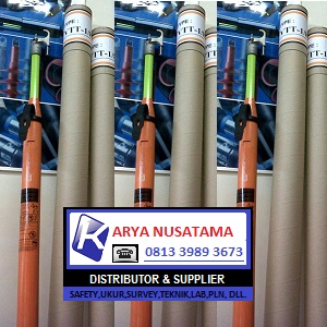 Jua Tongkat Telescopic Hot Stick 20KV di Depok