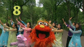 Murray Sesame Street sponsors number 8, Sesame Street Episode 4321 Lifting Snuffy season 43