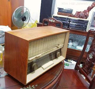 radio bóng đèn Erres RA615