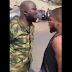 Nigerian footballer Chikelu Ofoedu confronts military man who slapped him