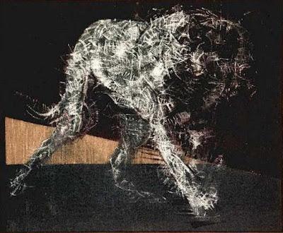 Pintura de perro - Francis Bacon