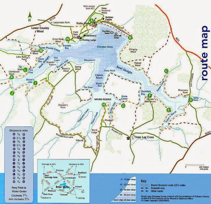 Bewl Water Map Miss Wheezy   Mountain Biking at Bewl Water   Miss Wheezy