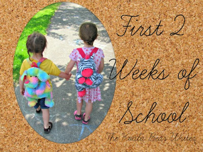 Our First 2 weeks of school and daycare