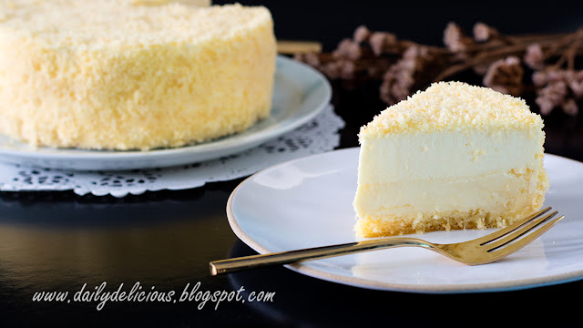 Chese Cake Fromage Blanc Pistache