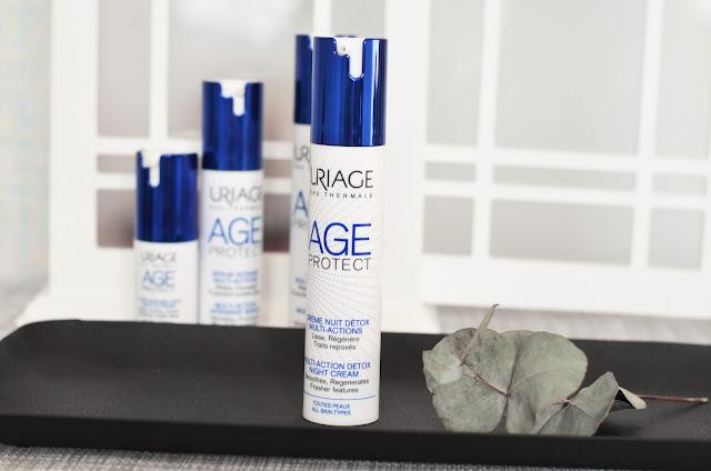 Uriage Age Protect Multi-Action Detox Night Cream Многофункциональный ночной детокс-крем