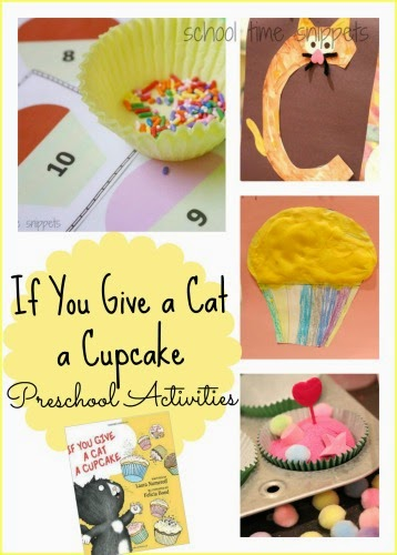 preschool If You Give A Cat a Cupcake theme