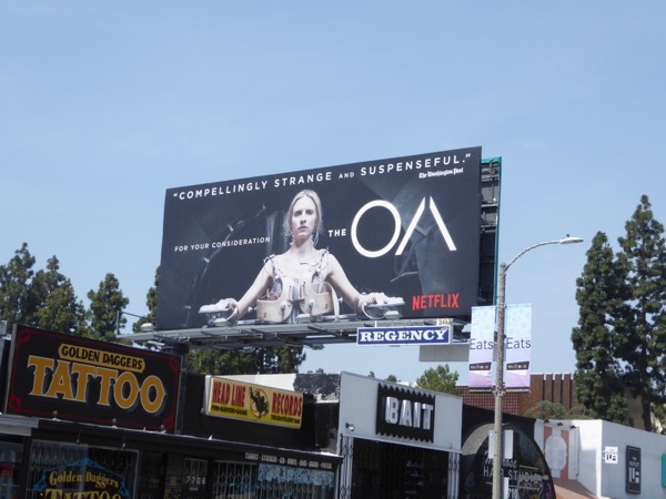 The OA 2017 Emmy FYC billboard