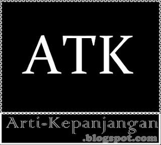 Arti Singkatan ATK - Alat Tulis Kantor