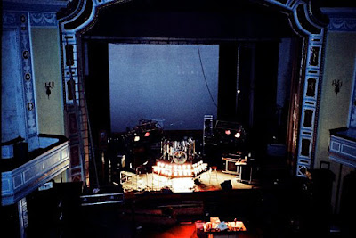 The Game stage setup in a Dover, New Jersey theatre