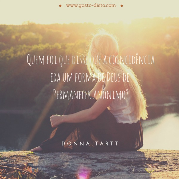 """O Pintassilgo"" - Donna Tartt"