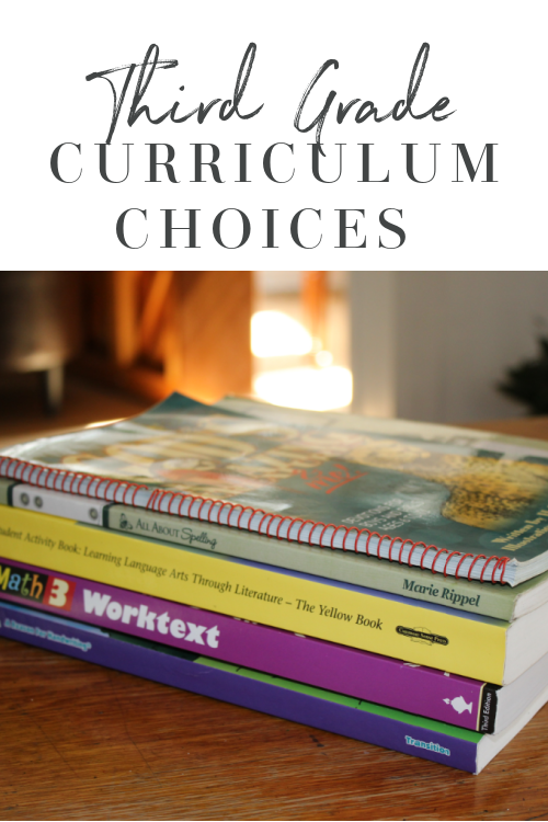 3rd Grade Homeschool Curriculum Choices 2020-2021