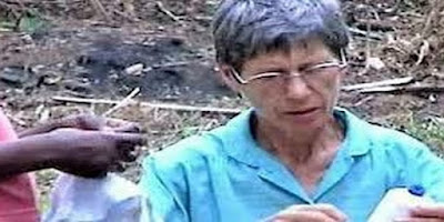 Irmã Inés Nieves Sancho religiosa de 77 anos