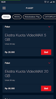 cara beli paket di maxstream telkomsel