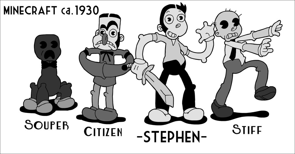 Cartoon Characters 1930s :