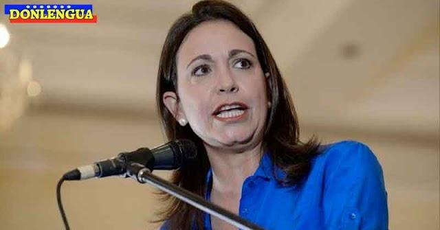 Maria Corina dice que Venezuela es el único país que prohíbe importación de la vacuna