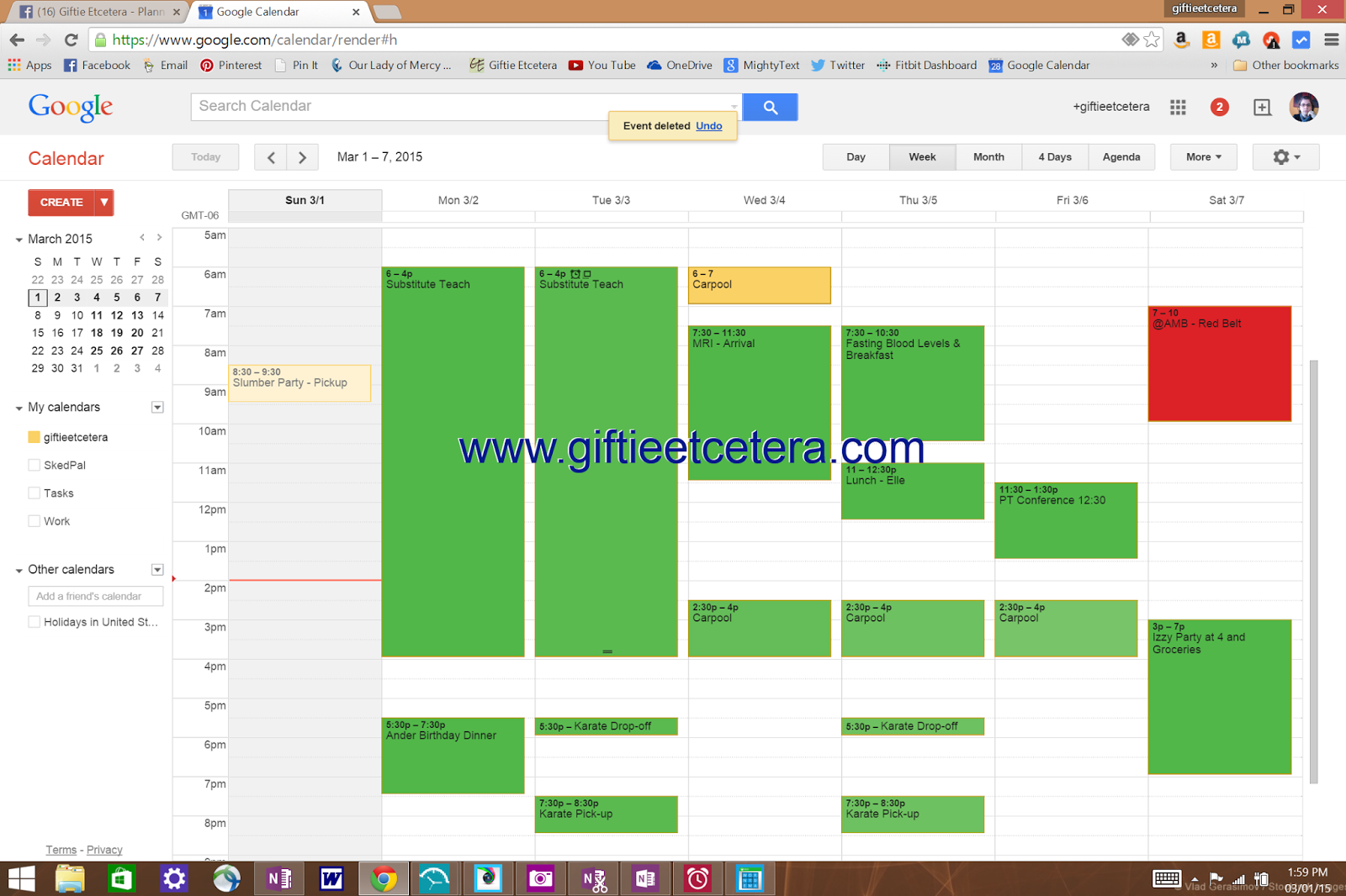 time management, Google Calendar, planner, scheduling