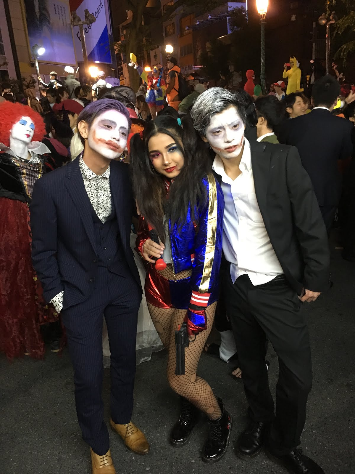 Harley Quinn and Joker costumes are still popular about a year and a half after Suicide Squad came out.  sc 1 st  Kansai Culture & Kansai Culture: Halloween 2017; Osaka