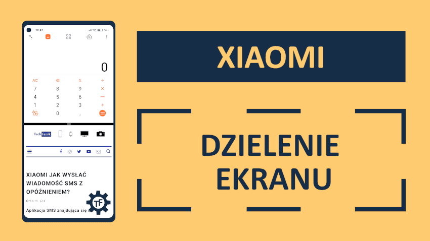 Xiaomi Dzielenie ekranu