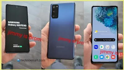 Samsung Galaxy S20 FE 5G Images Leaked, Key Specifications Also Renders
