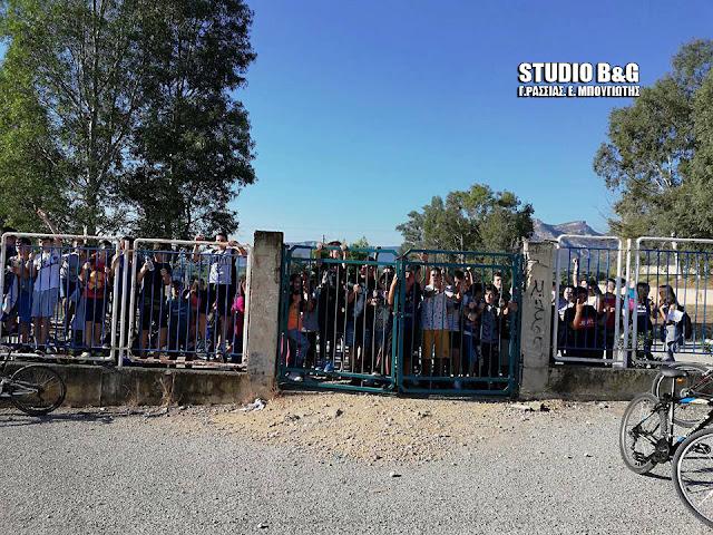 Κατάληψη από μαθητές στο Γυμνάσιο Κουτσοποδίου (βίντεο)