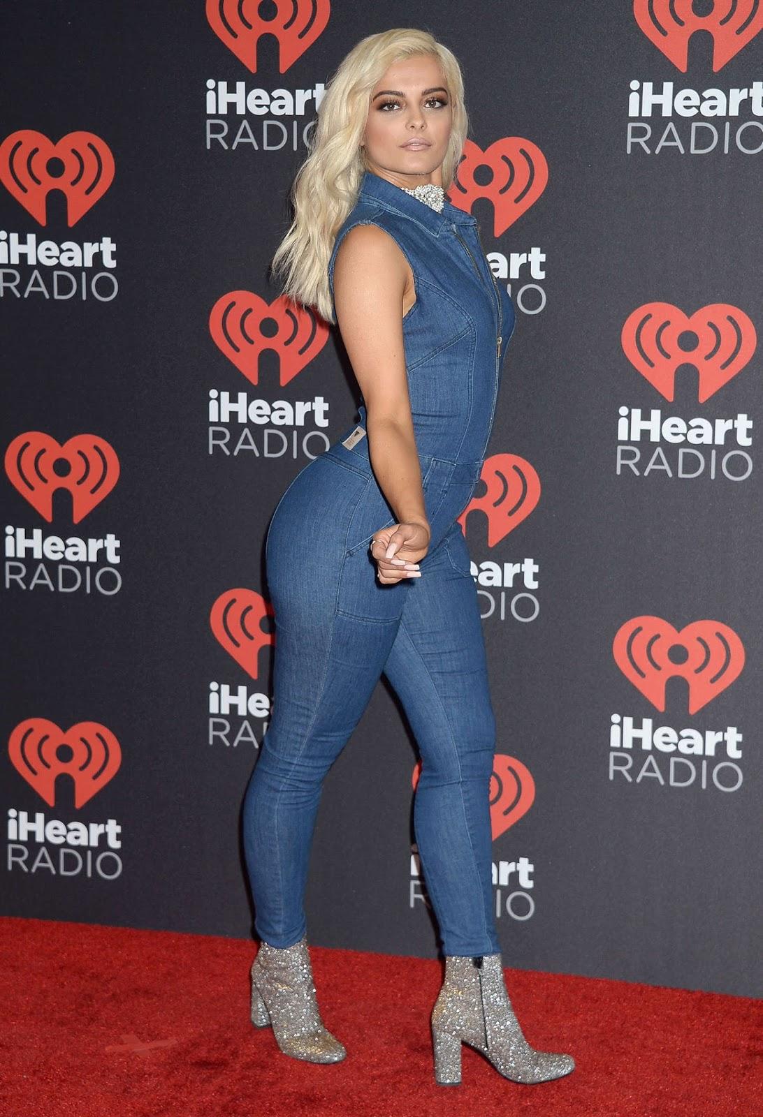 Bebe Rexha Posing at 2016 iHeartRadio Music Festival