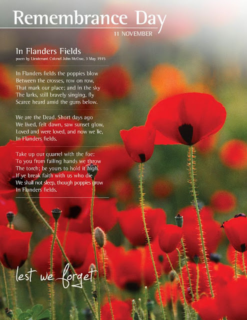 short remembrance day poems